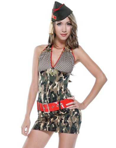 Army Minx Sexy Soldier Costume