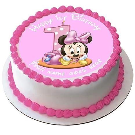 Decoración comestible para tarta de Minnie Mouse, 19 cm ...