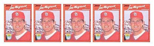 (5) 1990 Donruss Learning Series #34 Joe Magrane Baseball Card Lot Cardinals