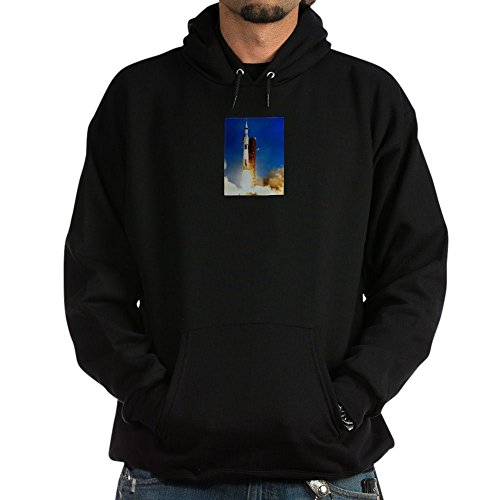 CafePress Saturn V Launch - Pullover Hoodie, Classic & Comfortable Hooded Sweatshirt (Jacket Launch Insulated)