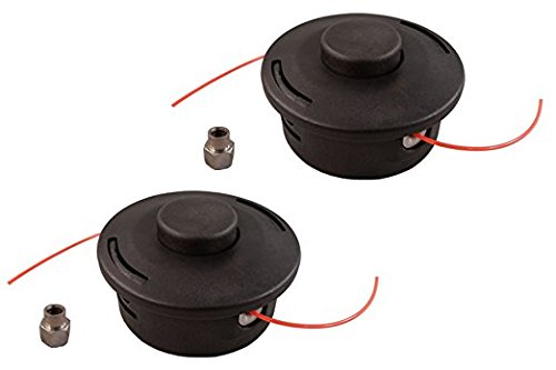 (2) Pack Stihl 25-2 Replacement Bump Feed Trimmer Head fits FS44 FS55 FS80 FS83 FS85 FS86 FS88 by MowerPartsGroup