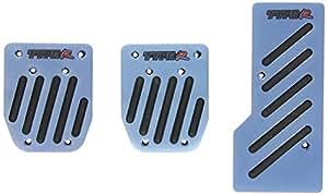 """Sumex 4006405 - Juego Cubrepedales """"Type R"""" Aluminio, Color Azul"""