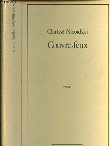 Couvre Feux Roman French Edition Clarisse Nicoidski