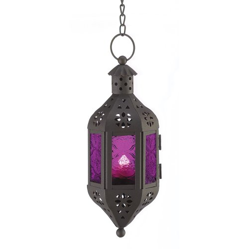 Gifts & Decor Mystical Decorative Candle Lantern Light Metal Glass (Lanterns Morroccan)