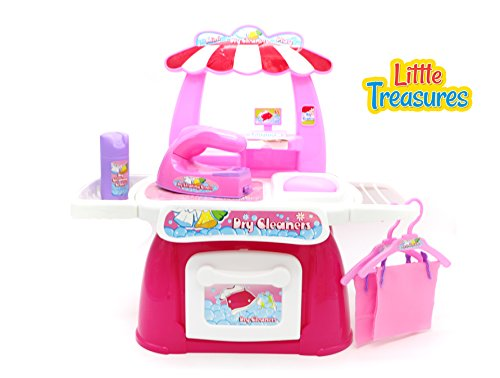 dry-cleaners-play-set-17-pieces-dry-cleaning-toy-set-for-girls-ages-3-included-washing-machine-set-i