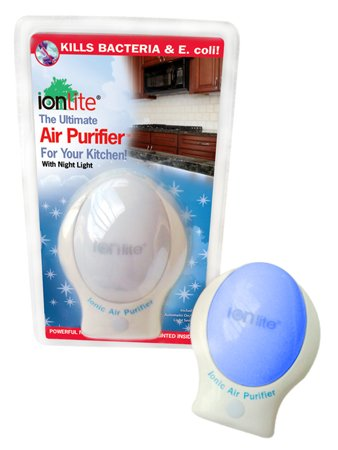 IonLite® Air Purifier Plug-In with Nightlight - Perfect Choice for your Baby's Room, Bedroom, Bathroom, Kitchen & More