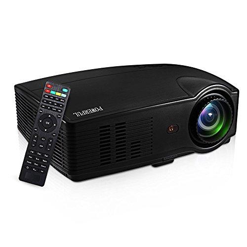 Projector, 3000 Lumens Brightness Home Projector Full HD 108