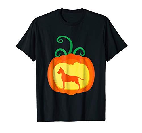 Great Dane Pumpkin Lantern Dog Lover Halloween Costume Shirt