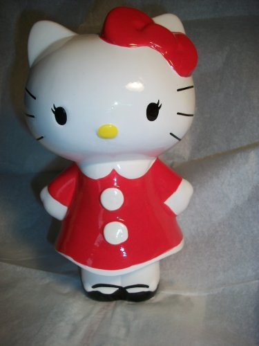 Hello Kitty RED Standing Coin Bank
