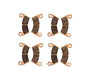 Race-driven Front & Rear Brake Pads For 2014-2017 Polaris 1000 Rzr Xp Eps Utv 1