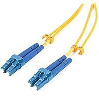 LC-LC Fiber Optic Patch Cable Single Mode Duplex Corning Bend Insensitive Fiber 9/125 - LSZH (1m (3.3ft))