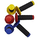 UXOXAS 22MM Protaper Handle Bar Grips For Suzuki Motorcle Dirt Pit Bike SDG SSR CRF ACT, red