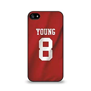 Steve Young - San Francisco 49ers Iphone 5/5S Soft Rubber Case