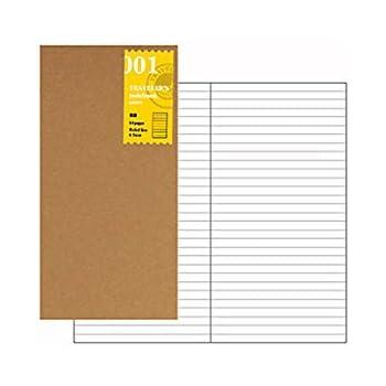 Midori Traveler's Notebook (refill 001) ruled