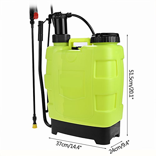durable service Fashine 20L Backpack Sprayer,5-Gallon Knapsack Hand ...