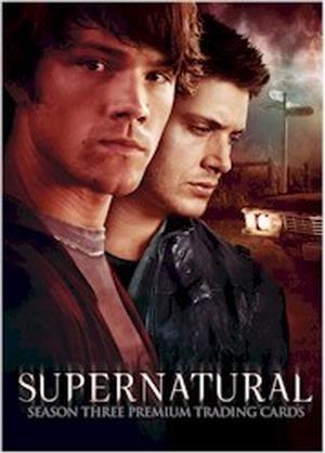 Inkworks Supernatural Season Three Trading Card Binder Album by Supernatural