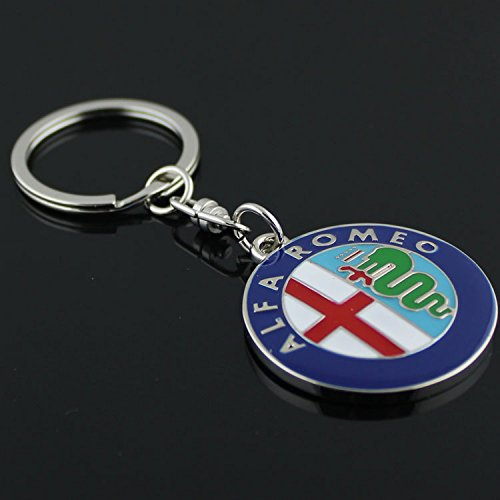 ALFA ROMEO 3D METAL COLORFUL KEYCHAIN