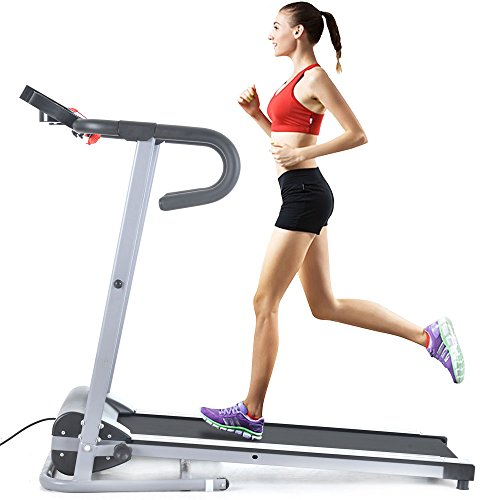 Easy Home Exercise Equipment: Treadmill Running Machine FCH Folding Electric Support
