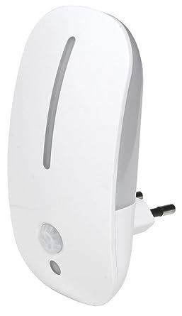 Airam Denver luz nocturna con sensor crepuscular y de movimiento 1.8 W, blanco, 115