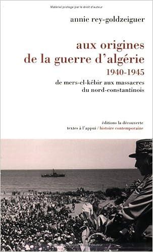 Livres gratuits en ligne Aux origines de la guerre d'Algérie, 1940-1945 pdf, epub