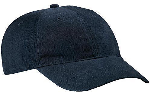 (Port & Company Men's Brushed Twill Low Profile Cap OSFA)