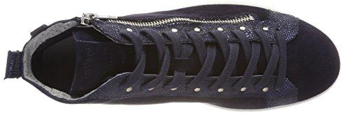 Legero Sneaker Donna a Alto Oceano Blau Collo Trapani AT5wqAr