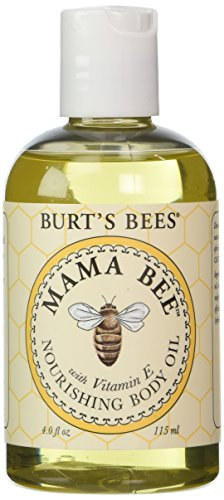 burts-bees-mama-bee-body-oil-with-vitamin-e-4-ounce-bottles-pack-of-2