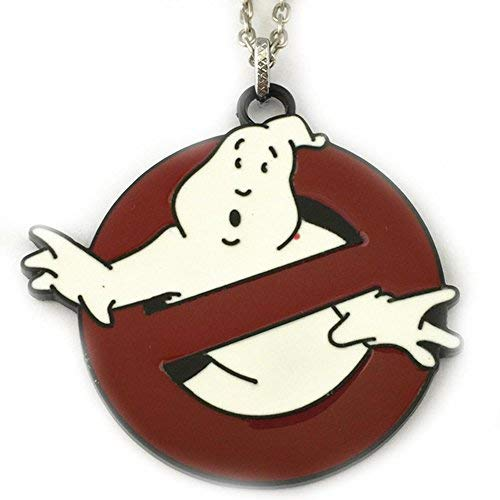 Blue Heron Ghostbusters Logo 18 Inch Necklace w/Gift Box