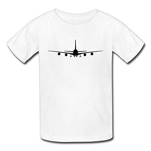 - QTHOO Airplane Baby's O Neck Short Sleeve T Shirt