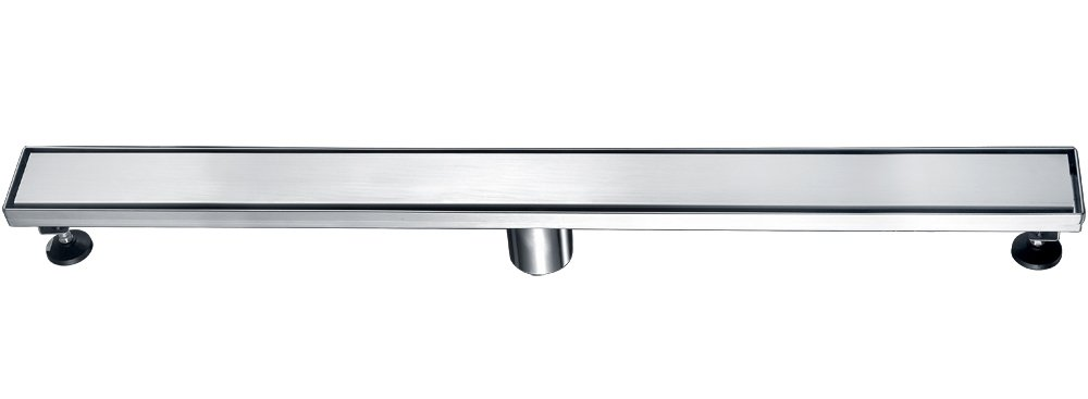 Alfi ABLD32B Alfi Brand -Bss 32'' Modern Stainless Steel Linear Shower Drain With Solid Cover Brushed, Silver