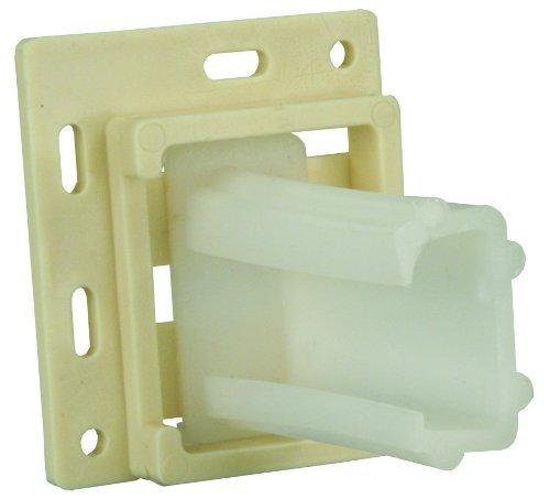 JR Products 70725 Small C-Shaped Drawer Slide Socket Set (Quantity 5)