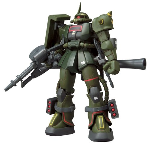 Extended MSIA: MS-06F Zaku II Real Type Color Gundam