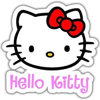 Amazoncom Hello Kitty Vynil Car Sticker Decal Select Size - Car sticker decal
