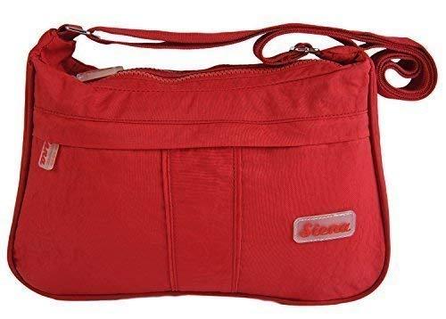 9879 Handbag Various Travel Shoulder Crossbody SIENA Colours Bag In Aspen Red Lightweight AwXUW8vq