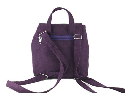 LONI - Bolso mochila  para mujer azul azul cobalto small morado