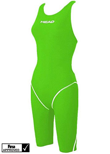 Head, Modello  Racing Knee - Costume da Bagno, da Gara, da Donna, Donna, verde (GN), 42