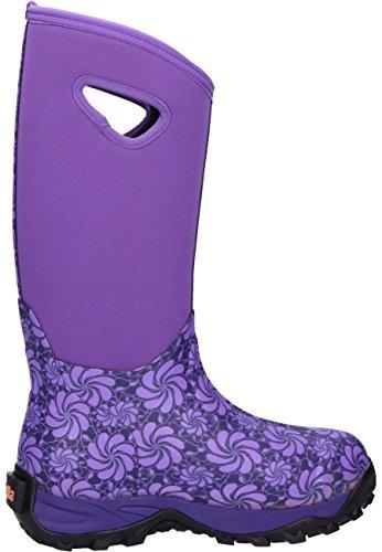 93fella Fella Eva Purple, Damen Gummistiefel Lila