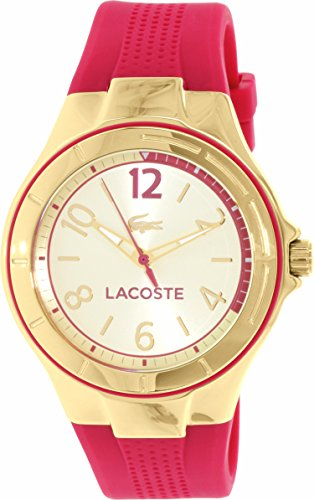 Lacoste Women's Acapo 2000878 Gold Silicone Quartz Watch