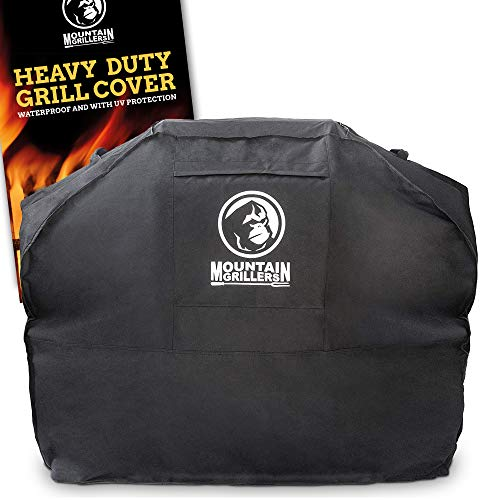 Grill Cover Heavy Duty Waterproof - BBQ Gas or Charbroil Large Covers 60