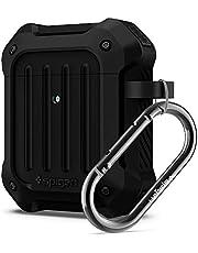 Spigen Tough Armor Ontworpen voor Apple Airpods Case 1 & 2 Hoesje [Front LED Visible] - Zwart