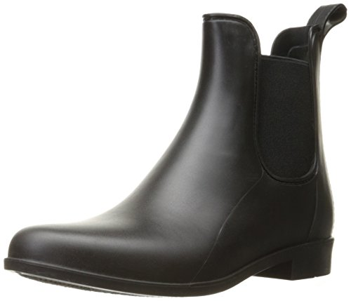 Sam Edelman Women's Tinsley Rain Boot, Black Matte, 8 M US
