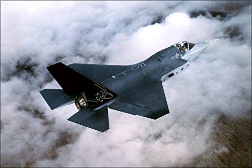 24x36 Poster . X-35, Joint Strike Fighter F-35 Lightning Ii