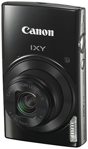 Canon コンパクトデジタルカメラ 光学10倍ズーム IXY210(BK)