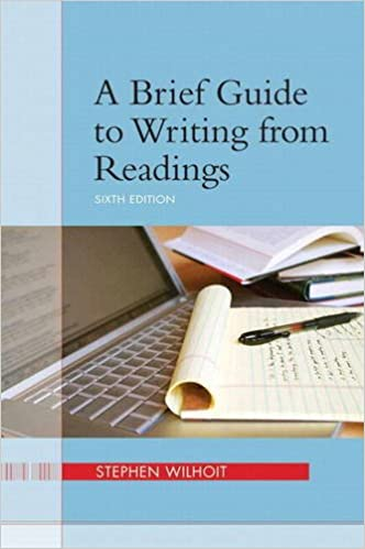 Book Brief Guide to Writing from Readings a