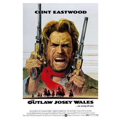 Outlaw Josey Wales Poster Movie Clint Eastwood Chief Dan George Sondra Locke Matt Clark