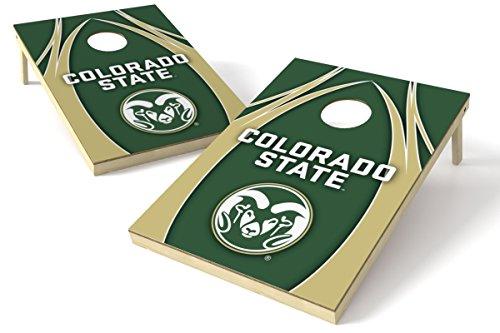Wild Sports NCAA College Colorado State Rams 2' x 3' V Logo Cornhole Game Set