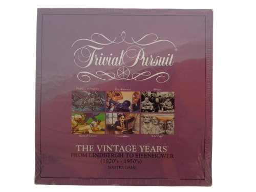 Trivial Pursuit The Vintage Years 1920's-1950's by Parker Brothers