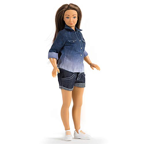 Asian Fashion Dolls - Lammily Exclusive Doll - Fashion Collector's Doll - First Edition - Curvy