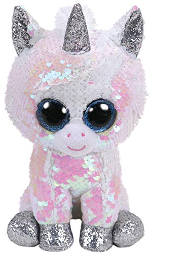 0d2a53fa6df Amazon.com  Ty Flippables Diamond The White Sequin Unicorn - 6
