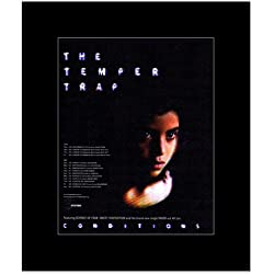 TEMPER TRAP - UK Tour 2010 Mini Poster - 30x24.2cm